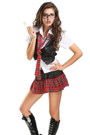 sexy naughty school girl costume