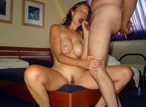 real mature wife threesome