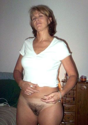 real milf naked
