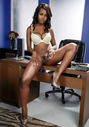 ebony model anal