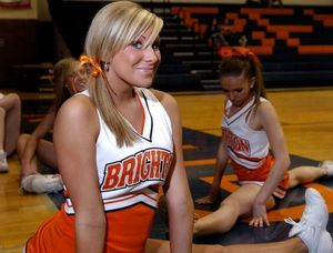 brittney white cheerleader