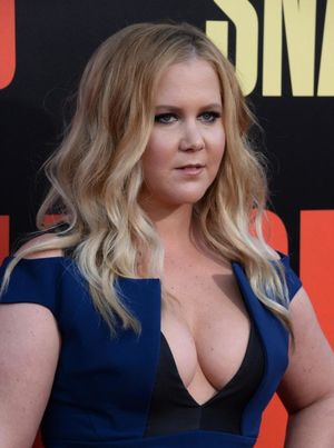 amy schumer cleavage