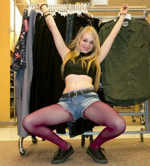 teen pantyhose tube