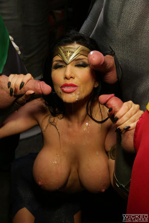 romi rain sloppy blowjob