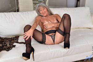 grannies in stockings