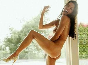 janice dickinson naked