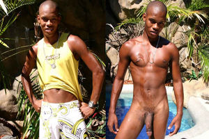 black men nude