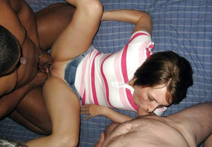 girl sucks big black cock