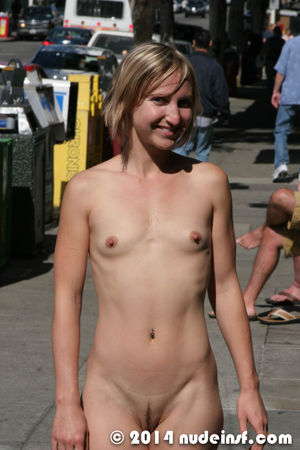 flat chested nudist