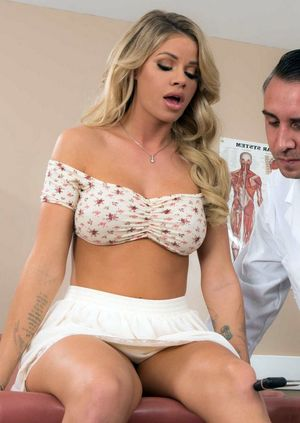 fake doctor breast exam