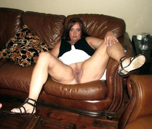 wife spreads her legs