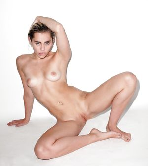 miley topless