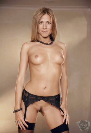 young jennifer aniston nude