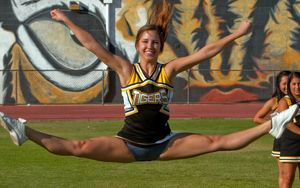 amatuer cheerleader