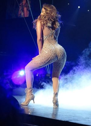 j lo butt naked