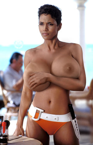 halle berry topless picture